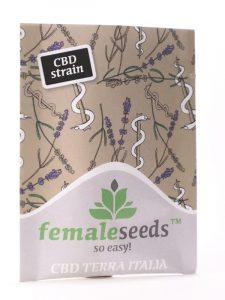 Female Seeds CBD Terra Italia